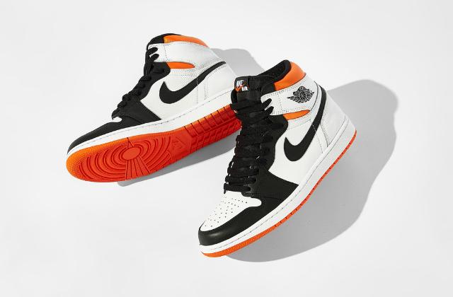 Jordan 1 Retro High Electro Orange  (4)