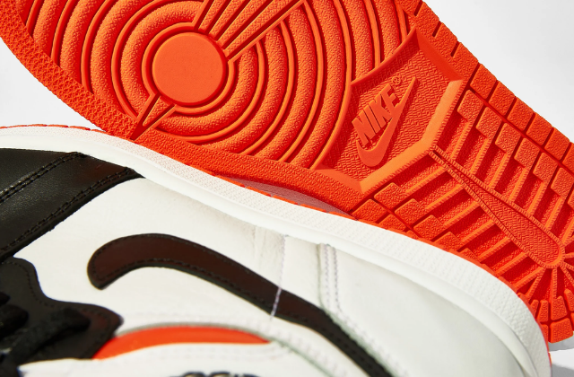 Jordan 1 Retro High Electro Orange  (6)
