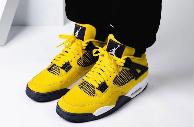 Jordan 4 Retro Lightning (2)