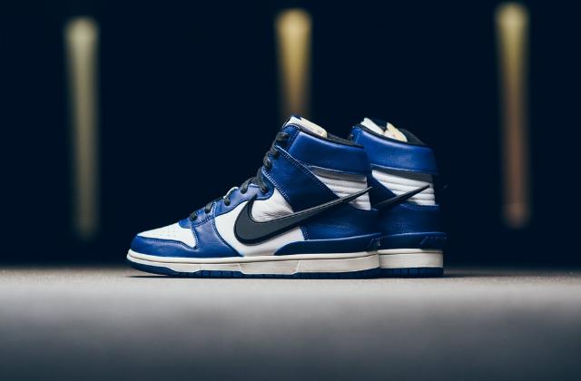 Nike Dunk High AMBUSH Deep Royal (1)
