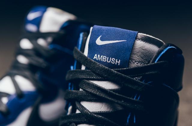 Nike Dunk High AMBUSH Deep Royal (3)