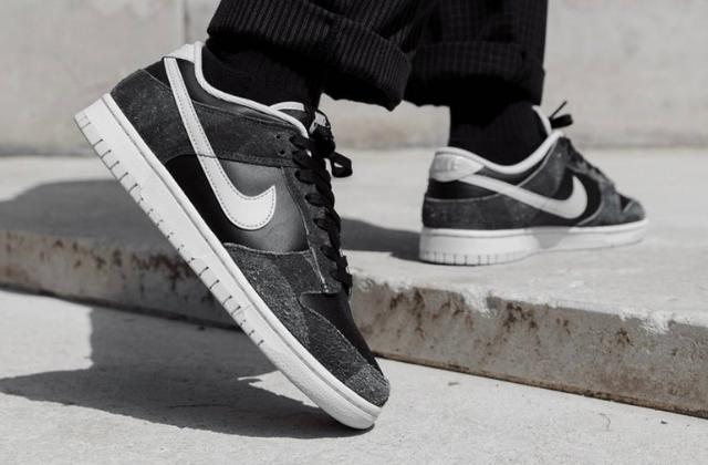 p Nike Dunk Low Premium  Zebra