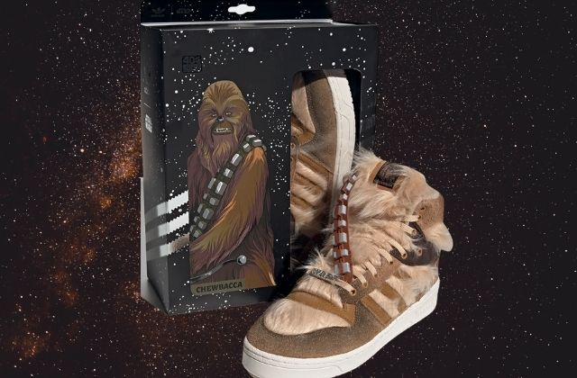 Adidas Rivalry Hi Chewbacca