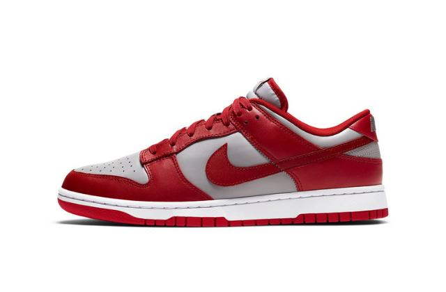 Nike Dunk Low Retro Medium Grey Varsity Red
